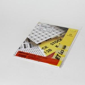 Etichete autoadezive 1/A4 Rosii Jetlascop