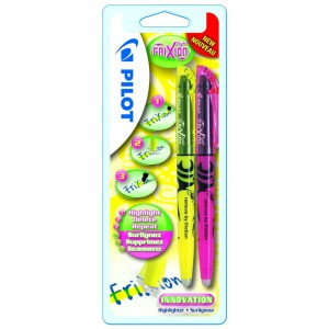 Set textmarker Pilot Frixion Light galben plus roz