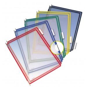 Set folie pentru sistem de prezentare Tarifold A5, 10 bucati