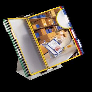 Sistem de prezentare Tarifold A4, 10 display-uri