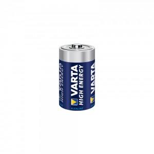 Set baterii R14 Varta Alkaline Energy 1.5V, 2 bucati
