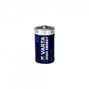 Set Baterii R20 Varta Alkaline 1.5V, 2 bucati