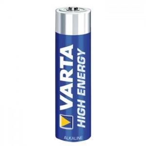 Set baterii R3 Varta AAA High energy 1.5v, 4 bucati