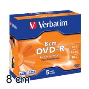DVD-R mini 8cm 1.4Gb Verbatim
